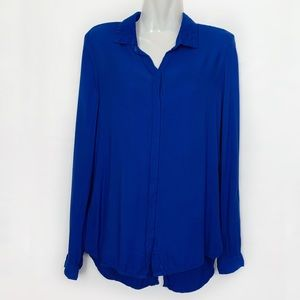 Anthropologie Cloth & Stone Button Down Top XS